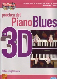 Iniciacion Piano Blues 3D 9788850716098 Manuel Lario BOOK+CD+DVD - Piano