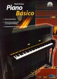 Piano Básico   Herb Kraus  BOOK+CD - Piano