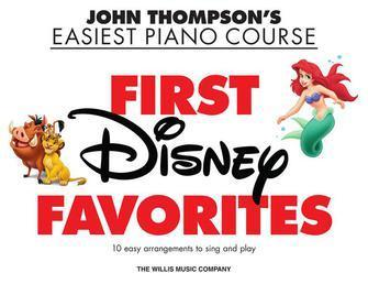 First Disney Favourites   John Thompson